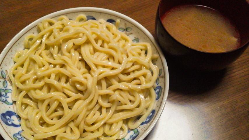 「具付きつけ麺」完成