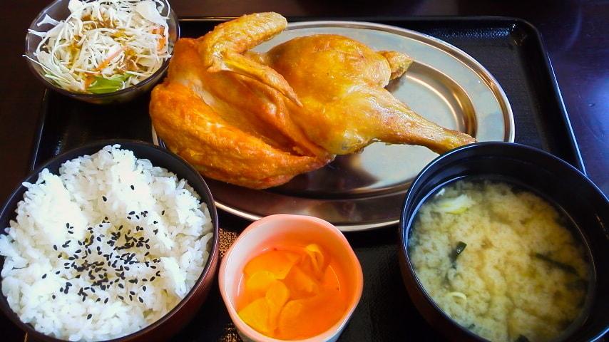小樽なると屋の若鶏定食