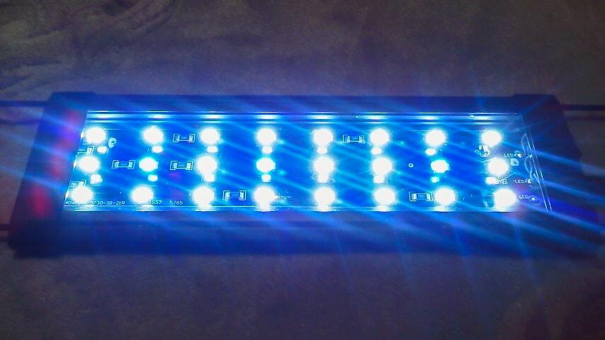 KEDSUMの全点灯状態