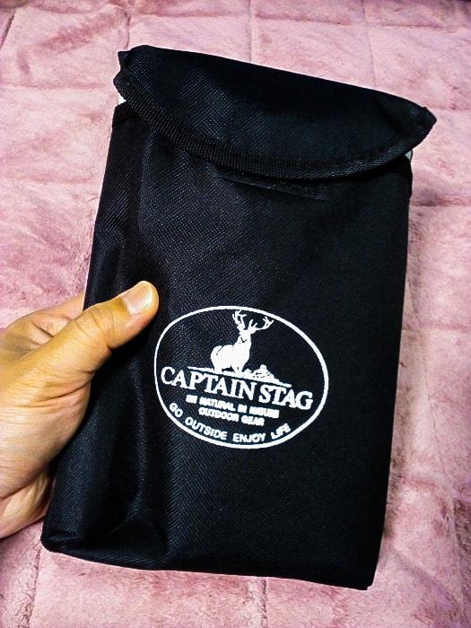 「角型スチールフォールディングスコップ」の収納バッグ