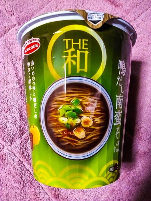 「タテロング THE和 柚子七味香る 鴨だし南蛮そば」のパッケージ