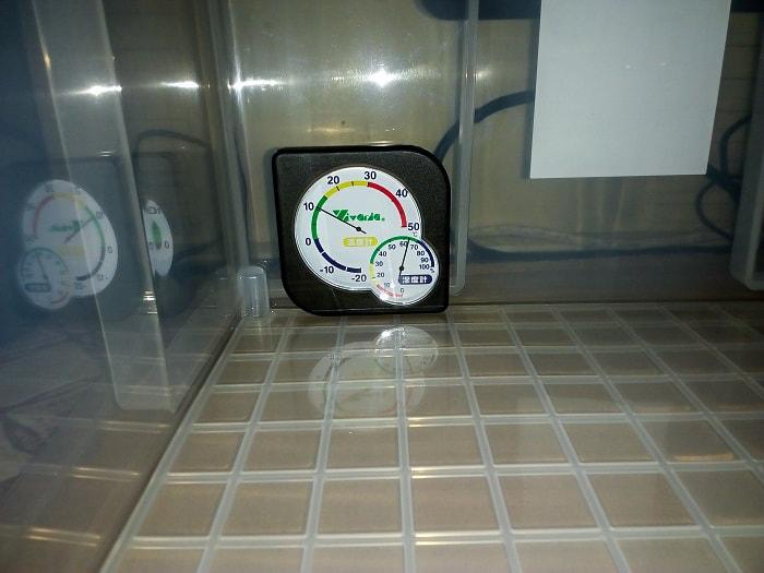実験開始前の温度