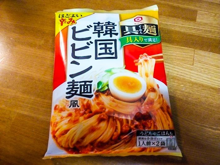 「具麺 韓国ビビン麺風」のパッケージ