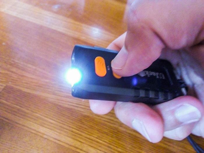 UJack「充電式LEDランタン」のリモコン2