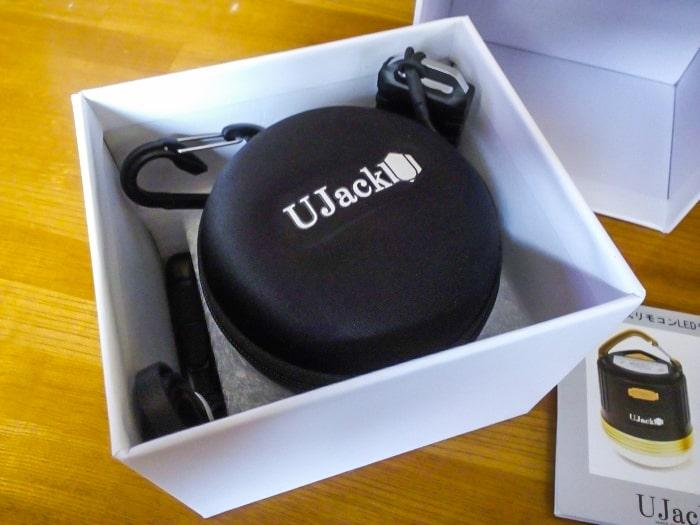 UJack「充電式LEDランタン」開封2