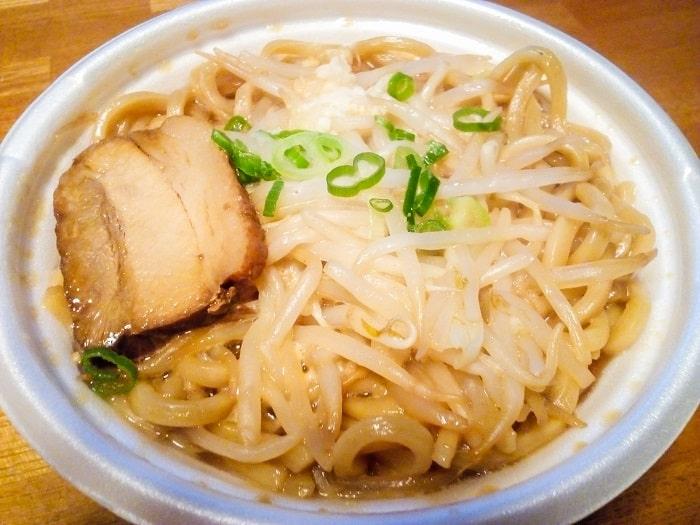 「中華蕎麦とみ田監修豚ラーメン」調理後