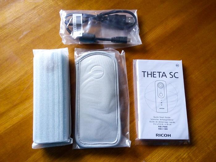 「THETA SC」内容物