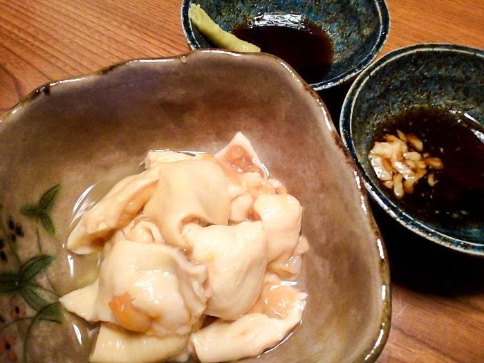 「北海道産 鮮ほや」調理後