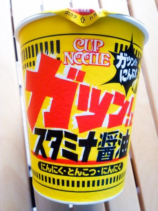 「カップヌードル スタミナ醤油 ビッグ」のパッケージ